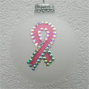 Breast Cancer Awareness Ribbon Ornament