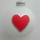 Suit of Hearts: Poker and Bridge Playing Cards Ornament