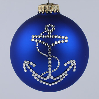 Anchor Ornament - Anchor Christmas Tree Ornaments - Miscellaneous ...
