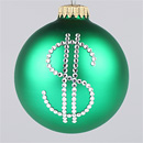 Dollar Sign Ornament