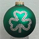 Irish Shamrock Ornament