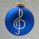Treble Clef Ornament