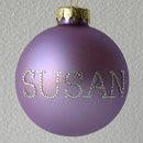 Lavender Personalized Ornament