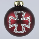 Maltese Cross Ornament