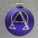 Alpha and Omega Ornament